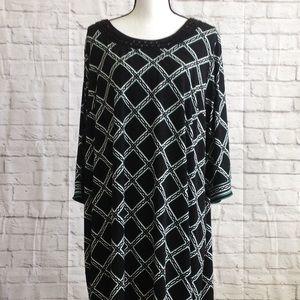 Cathrines Geometric Beaded Dress 2X